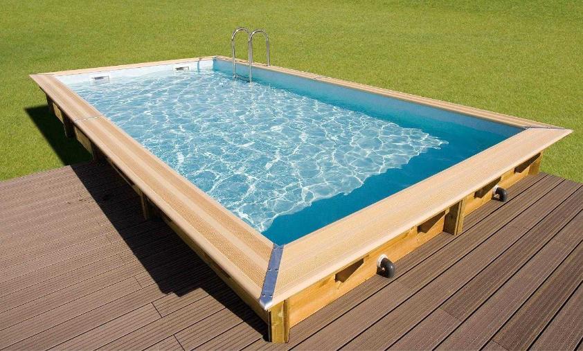 piscine hors sol ovale Leforest