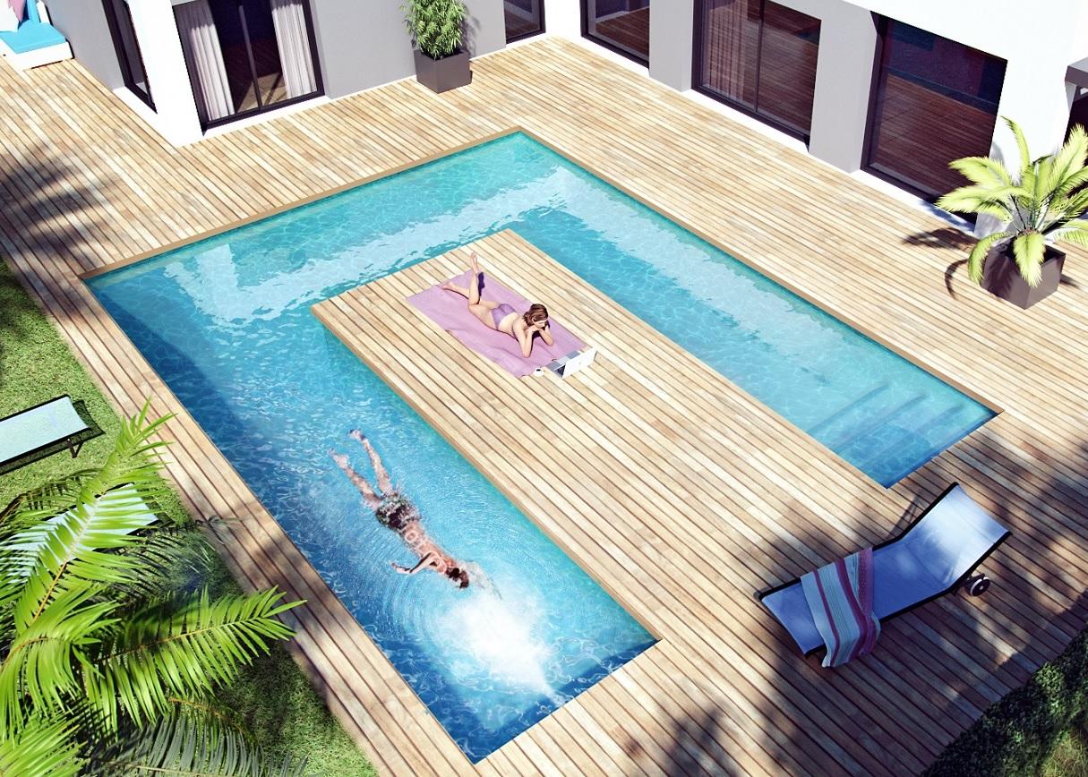 piscine coque ou piscine en kit blog distripool. Black Bedroom Furniture Sets. Home Design Ideas