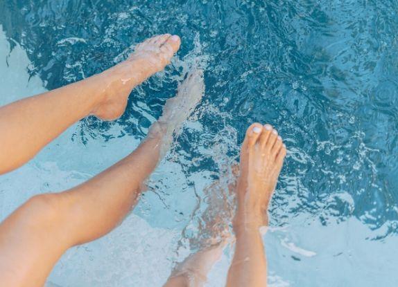mousse piscine