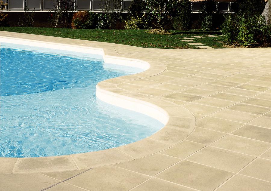 margelle dalles piscine