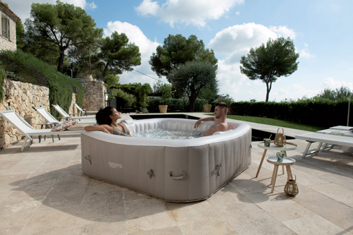 spa gonflable hiver