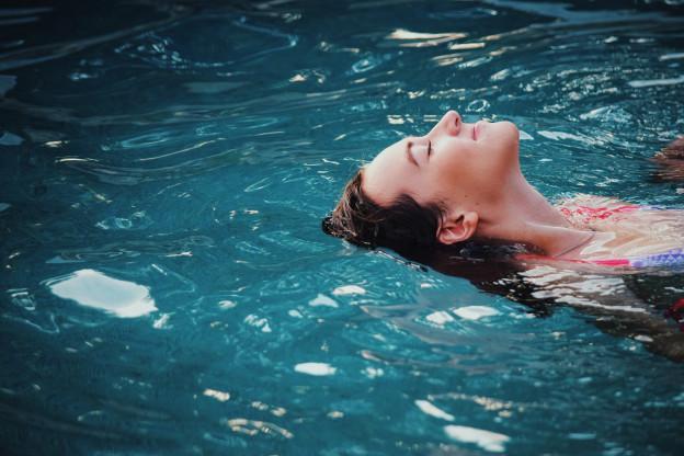 piscine automne