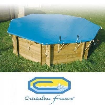 B che hiver piscine bois cerland nortland ubbink sunbay for Bache piscine sunbay