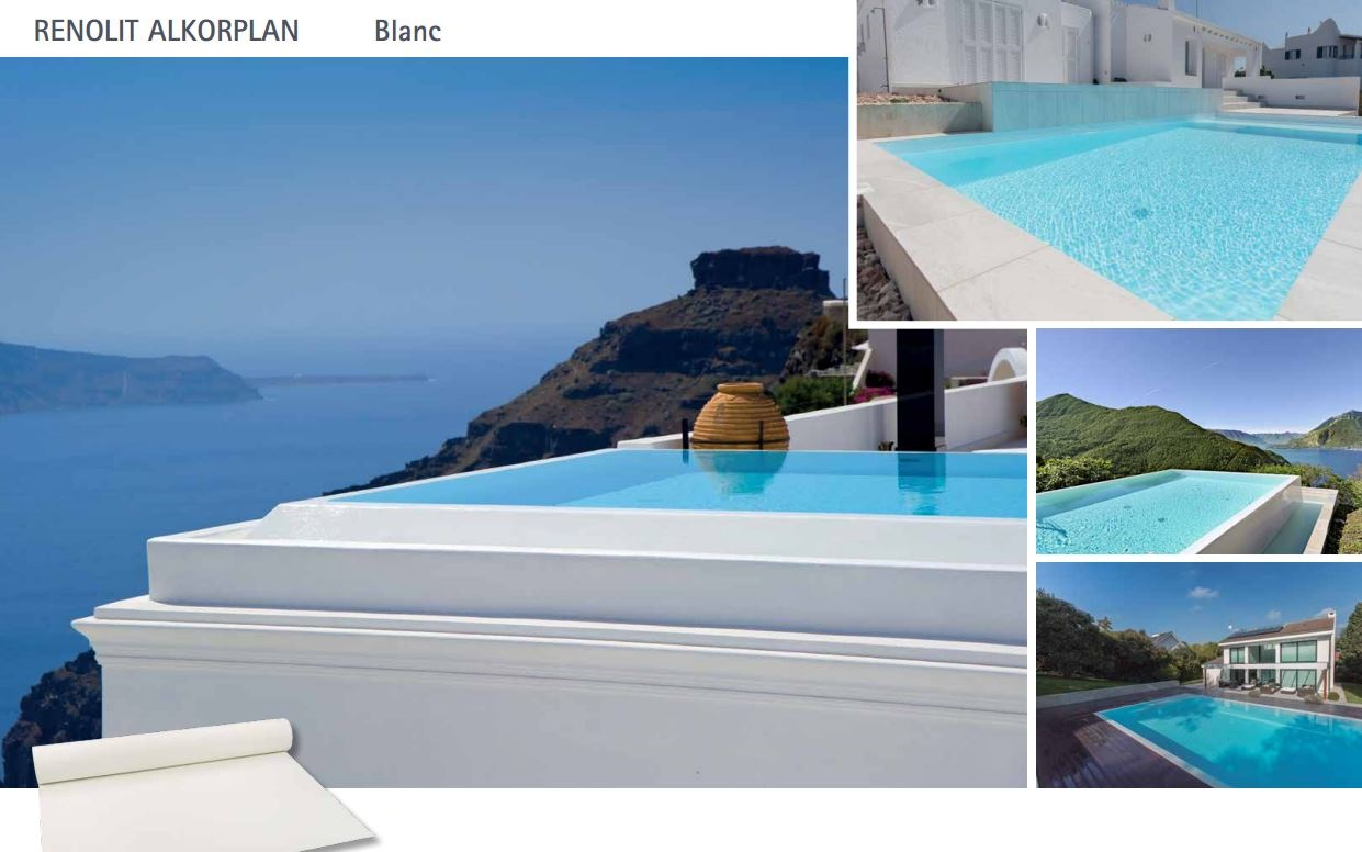 piscine liner blanc deco photo bleu et violet sur piscine 10x5 avec un escalier rectangulaire. Black Bedroom Furniture Sets. Home Design Ideas