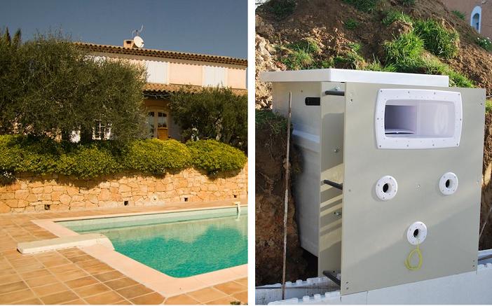Filtration piscine les moins chers de notre comparateur for Bloc filtrant piscine