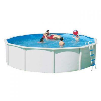 piscine acier ronde 350x120cm