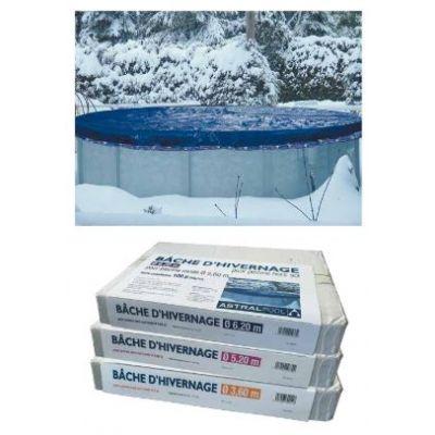 Accessoires piscine hors sol bois - Bache hivernage piscine hors sol ...