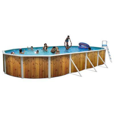 piscine acier magnum ovale