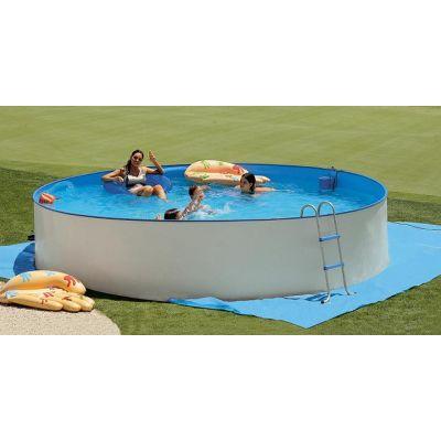 Piscines hors sol prix discount en acier ou bois for Prix piscine acier