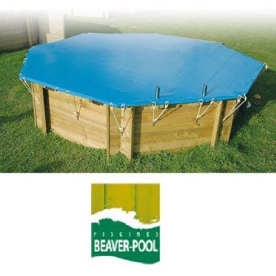 B che hiver piscine bois cerland nortland ubbink sunbay for Beaver pool piscine