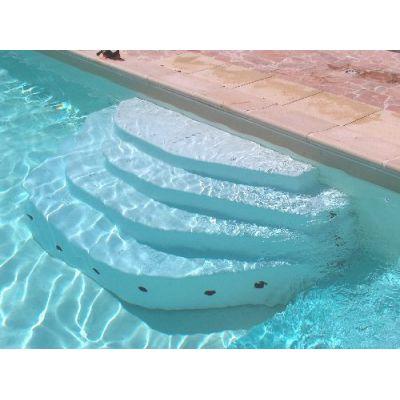 escalier piscine large gamme acrylique ou poser dans