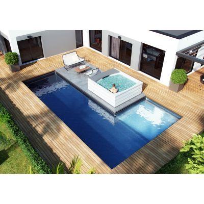 piscine en kit polystyr ne kit bloc la simplicit par. Black Bedroom Furniture Sets. Home Design Ideas