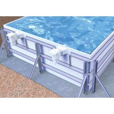 Kit piscine la piscine en kit en b ton polystyr ne panneau for Destockage piscine coque