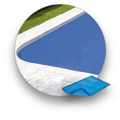 Bache A Bulle 400 µ Piscine Ibiza Distripool