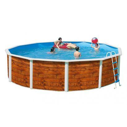 piscine hors sol ronde Villiers le Bel