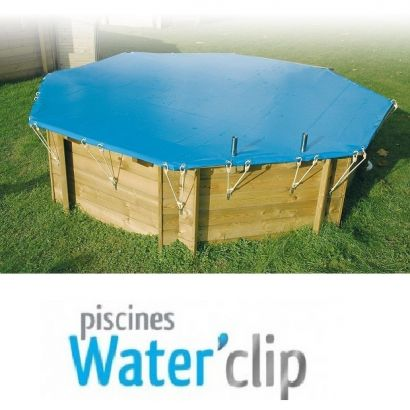 B che d 39 hiver piscine bois waterclip distripool for Piscine waterclip