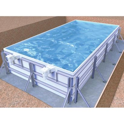 Piscine en kit INFINIT'EAU - Distripool