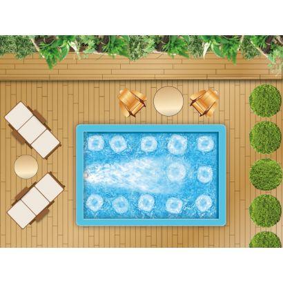 Piscine en kit construction traditionnelle beton baln o et for Kit construction piscine beton