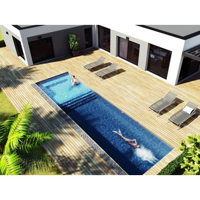 Spa de nage structure polystyr ne distripool - Spa de nage encastrable ...