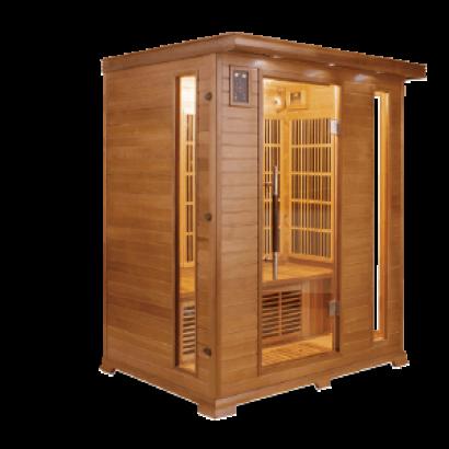 sauna infrarouge luxe distripool. Black Bedroom Furniture Sets. Home Design Ideas
