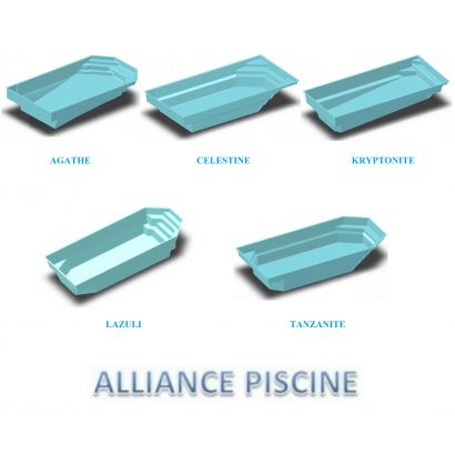 Tablier volet roulant coque alliance distripool for Piscine celestine 6