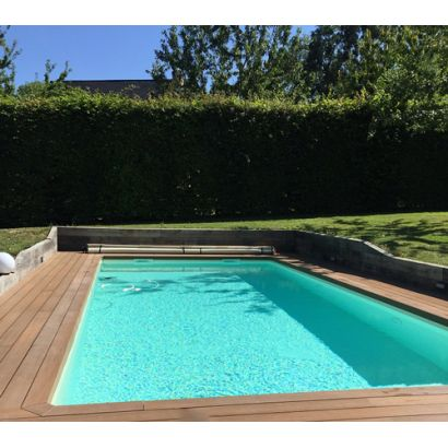 Piscine en kit construction traditionnelle beton premium for Piscine bois 7x3