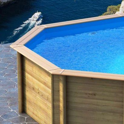 Liner piscine bois azteck zodiac distripool for Piscine zodiac azteck