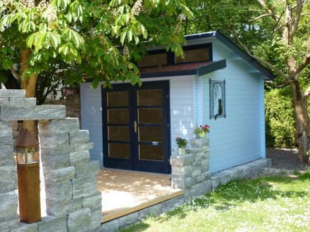 abri jardin en bois avantgarde weka. Black Bedroom Furniture Sets. Home Design Ideas