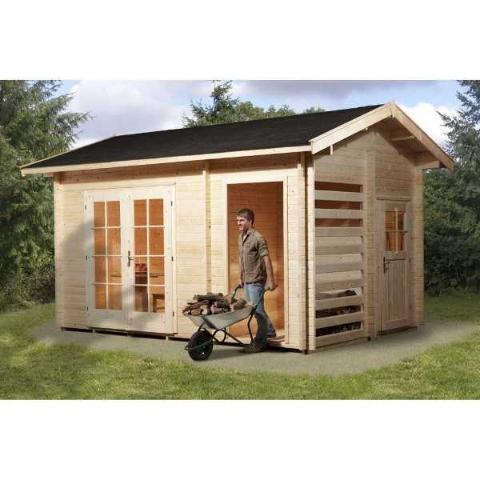 abri jardin en bois multifunktion weka. Black Bedroom Furniture Sets. Home Design Ideas