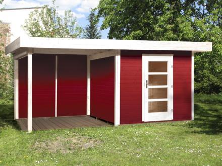 abri jardin en bois lounge taille 2 et 3 weka. Black Bedroom Furniture Sets. Home Design Ideas