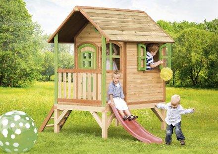 Cabane pour enfant en bois tom axi for Cabane de jardin en bois pour enfant