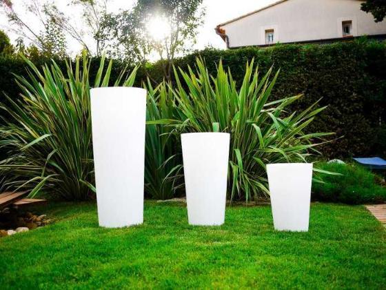 Pot de jardin lumineux rocket - Pot lumineux jardin ...