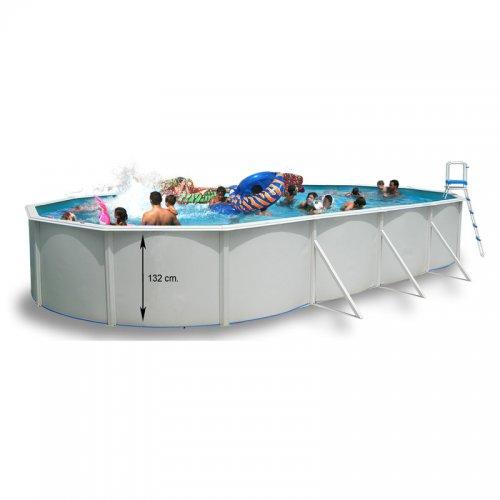 piscine hors sol ovale magnum distripool. Black Bedroom Furniture Sets. Home Design Ideas