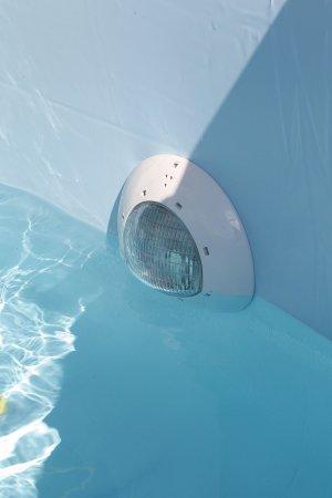 Projecteur ubbink pour piscine bois distripool for Lampe piscine bois