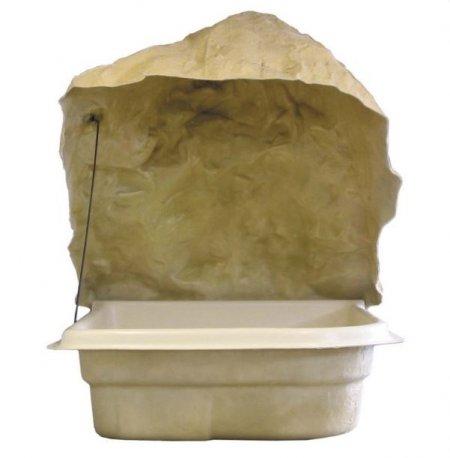 Local technique sur cuve imitation rocher pm for Local technique semi enterre