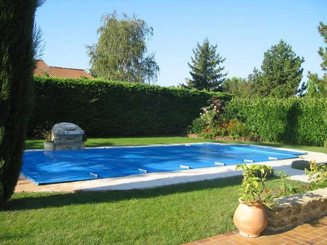 B che barres piscine s cu basic sur mesure for Bache piscine securite