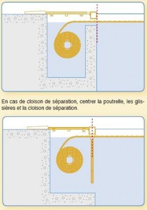 Volet automatique immerg imm ax moteur dans l 39 axe for Reduire profondeur piscine beton