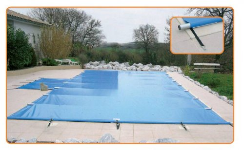 B che barres piscine aquaprotect distripool for Bache piscine securite