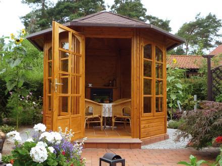Pavillon de jardin en bois CHERIE