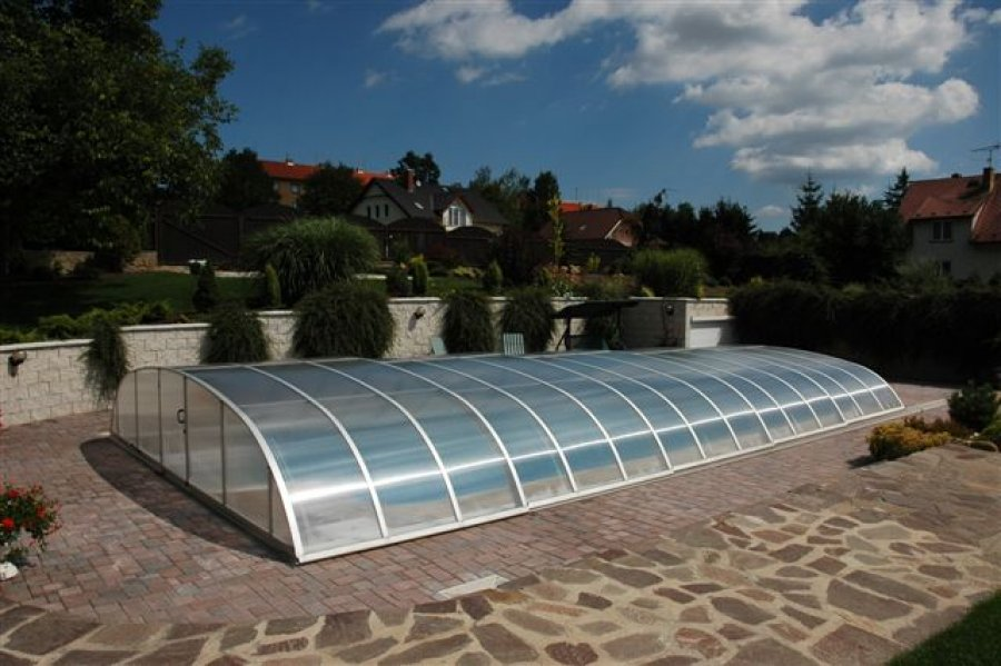 Abri piscine bas dallas distripool for Abris piscine uv