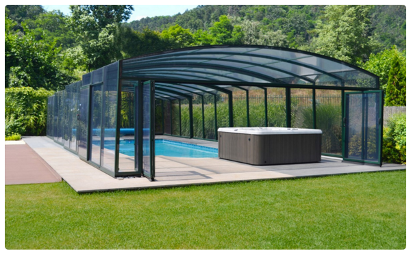 abri de piscine en kit cool abri de piscine plat u reims u bois soufflant abri de jardin pas. Black Bedroom Furniture Sets. Home Design Ideas