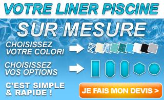 Piscine en kit et hors sol prix discount sur montpellier for Liner sur mesure piscine
