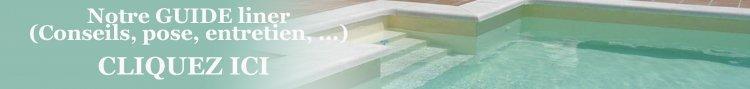 guide liner piscine