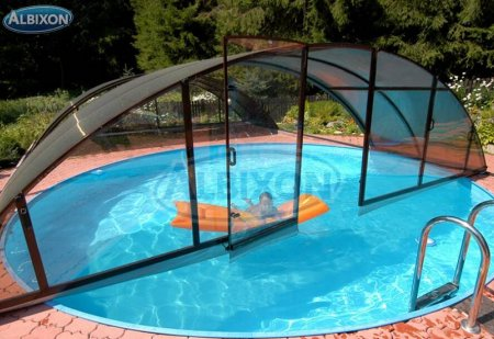 Piscine coque ronde albistone by albixon albixon for Piscine en dur ou coque