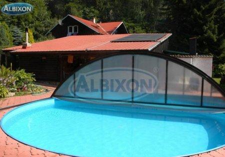 piscine coque ronde albistone by albixon albixon