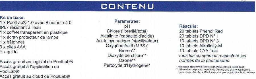 Photom tre pool lab 1 0 for Peroxyde d hydrogene piscine