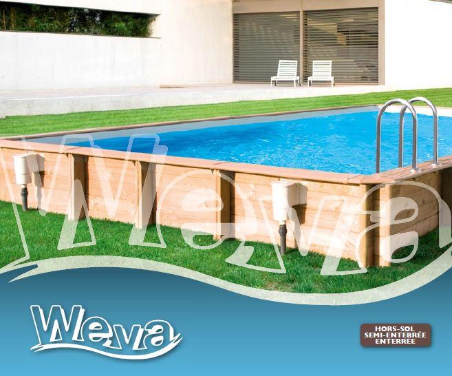 Bache piscine cerland weva for Enrouleur bache piscine bois octogonale