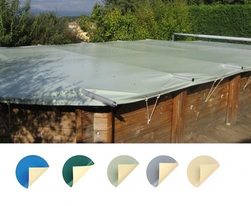 B che barres compatible piscine sunbay distripool for Bache hiver piscine bois