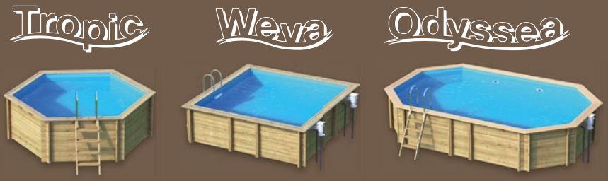 B che hiver piscine bois cerland distripool for Procopi piscine