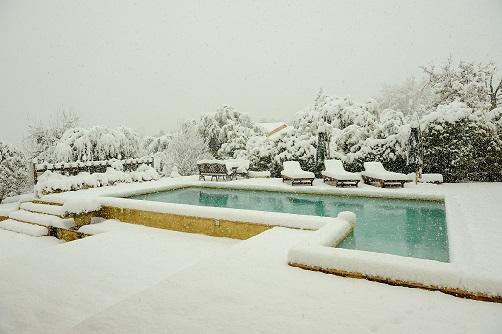 B che hiver pour piscine hivernage piscine - Bache piscine hiver ...